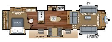 2018 north point luxury fifth wheel floorplans u0026 prices jayco inc