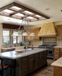 Kitchen Island Range Hood Kitchen Skylight Kitchen Contemporary With Long Kitchen Island