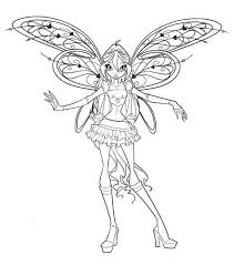 coloring book pages winx club princess bloom lovely wing winx club coloring pages batch coloring