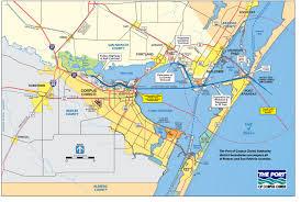 map of corpus christi port of corpus christi san patricio county economic development