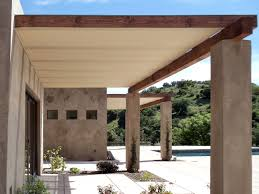 Outdoor Fabric For Pergola Roof by Outdoor Canvas Tarp Ceiling Back Deck Ideas Pinterest Patio