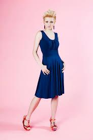 blue dress a line blue dress squasht boutique
