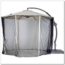 Offset Patio Umbrella With Mosquito Net by Patio Umbrella Mosquito Net Canada Icamblog