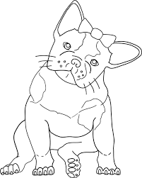 13 images of cute french bulldog coloring pages cute bulldog
