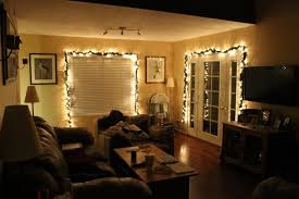 Room Lights Decor by Living Room Christmas Lights Lights In Room On Decor With