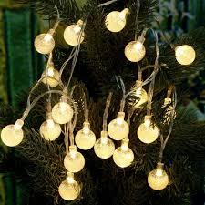 String Lights Balls by Online Get Cheap Clear Bubble Lights Christmas Aliexpress Com