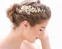 for hair wedding barrettes etsy