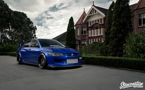 mitsubishi modified wallpaper download 1920x1189 mitsubishi lancer evo ix blue cars sedan