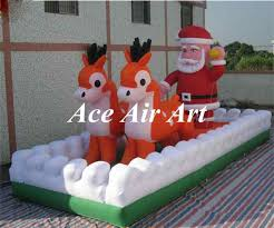 Large Christmas Inflatable Yard Decorations by Online Get Cheap Christmas Inflatable Yard Decorations Aliexpress