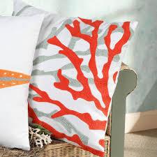 18 square fiesta key coastal decorative pillows