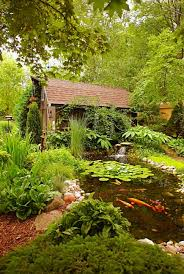 Pretty Backyards 35 Beautiful Backyards Midwest Living