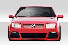 red volkswagen jetta 2002 99 05 volkswagen jetta r look duraflex front body kit bumper ebay