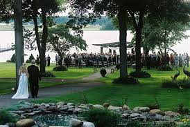 wedding venues in cleveland ohio and walking the aisle outside lake ceremony here