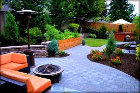 landscape design for backyard privacy garden post small yard
