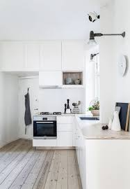 simple and nordic inspired kitchen the white clean kitchen