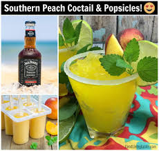 southern peach cocktail recipe good living guide