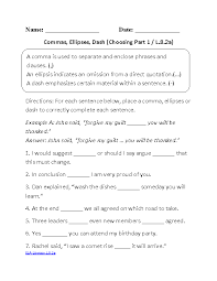 8th grade common core language worksheets englishlinx com