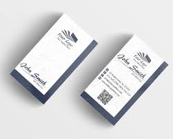 Business Card With Qr Code Corporate Qr Code Business Card Downloade For Free