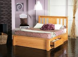 limelight vesta 5ft kingsize oak bed frame with drawers by