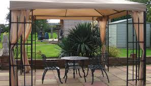 Outdoor Canvas Curtains Pergola Gazebo Curtains Commendable Universal Gazebo Curtains
