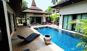 chambre avec piscine maison villa à vendre à phuket villa 3 chambres avec piscine