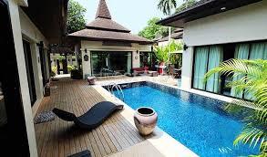 chambre avec piscine priv maison villa à vendre à phuket villa 3 chambres avec piscine