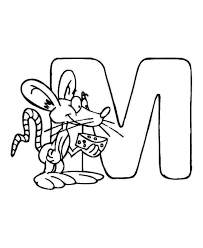 letter m coloring pages getcoloringpages com