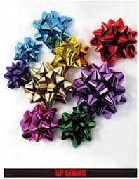 Wholesale Christmas Gift Wrap - wholesale christmas gift wrapping iridescent star bow gift star