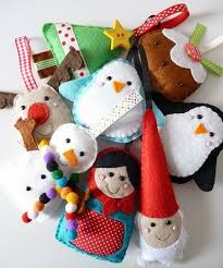 felt ornaments awesome decoration for your tree