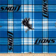 detroit lions home decor nfl detroit lions plaid fleece blue white discount designer