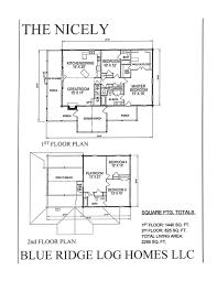 Floor Plans 2000 Square Feet by 2000 Square Foot Log Homes Blue Ridge Log Homes 540 337 0033