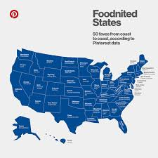 Alaska On A Map by Here U0027s A Map Of The Most Popular Food In Every State Kitchn