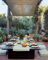 Outdoor Dining Room Outdoor Rooms Martha Stewart