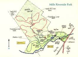 Vt Map Mills Riverside Park Trail Map