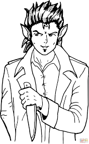 elf coloring free printable coloring pages