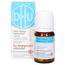 bindegewebsschwäche medikamente dhu silicea pentarkan für das bindegewebe tabl 80 st