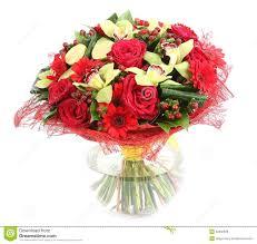 composition florale avec des roses composition florale en verre vase transparent roses rouges
