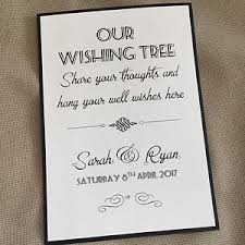 wedding wishes tree handmade personalised vintage style wedding wishing wish tree sign