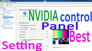Gallery For Gt Best Computer Setup by Nvidia Control Panel Best Setting For Video Nvidia Color