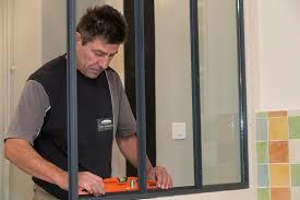 porte style atelier d artiste faire installer et poser une verrière cloison vitrée atelier d