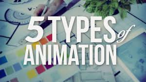 the 5 types of animation youtube