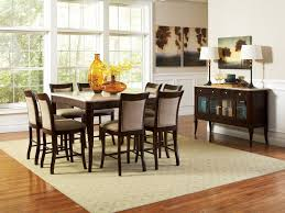 kitchen 49 bar height dining room tablewith counter height