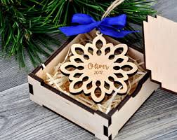 personalized christmas ornaments wood christmas decorations