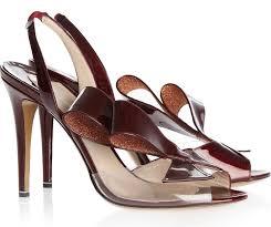 high heels designer nicholas kirkwood joins the clear pvc designer high heels craze