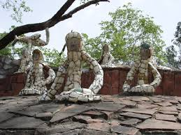 recycled art and the rock garden of chandigarh okeanos