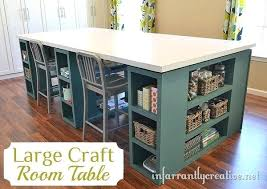 Storage Solutions For Craft Rooms - bayside furnishings project table at costco craft room desk craft