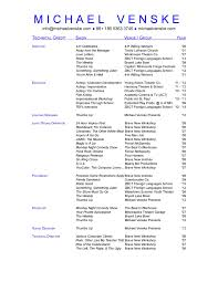 Resume Template Unique Cover Letter Theater Resume Template High Theater Resume