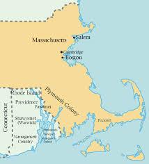 Thirteen Colonies Map Doyle Davidson Samuel Gorton