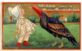 beautiful thanksgiving postcards from the early 1900s photo