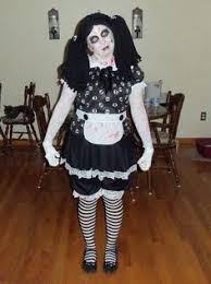 Scary Dolls Costumes Halloween Rag Doll Womens Costume Holiday Halloween Costumes